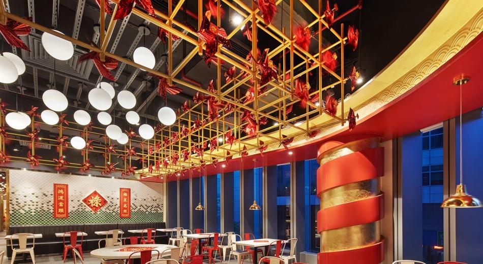 空间  ·「禄鼎记」广州建六店空间体验